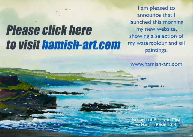 Hamish Rosie's Website